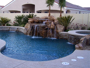 Edgewater Pools Las Vegas Custom Pools Spas Landscaping Water ...