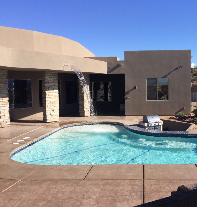 Swimming Pool Photo Gallery Edgewater Pools Las Vegas