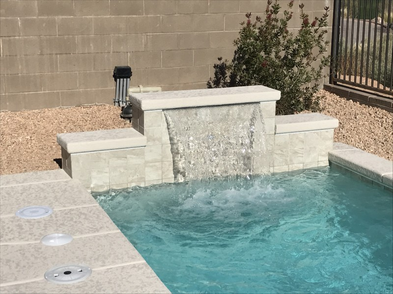 Water Fire Spa And Decking Features Edgewater Pools