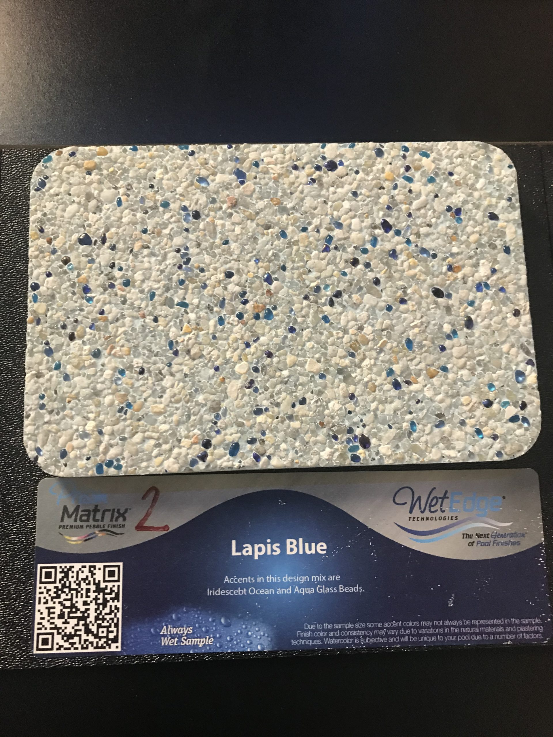 Lapis Blue Wet Edge