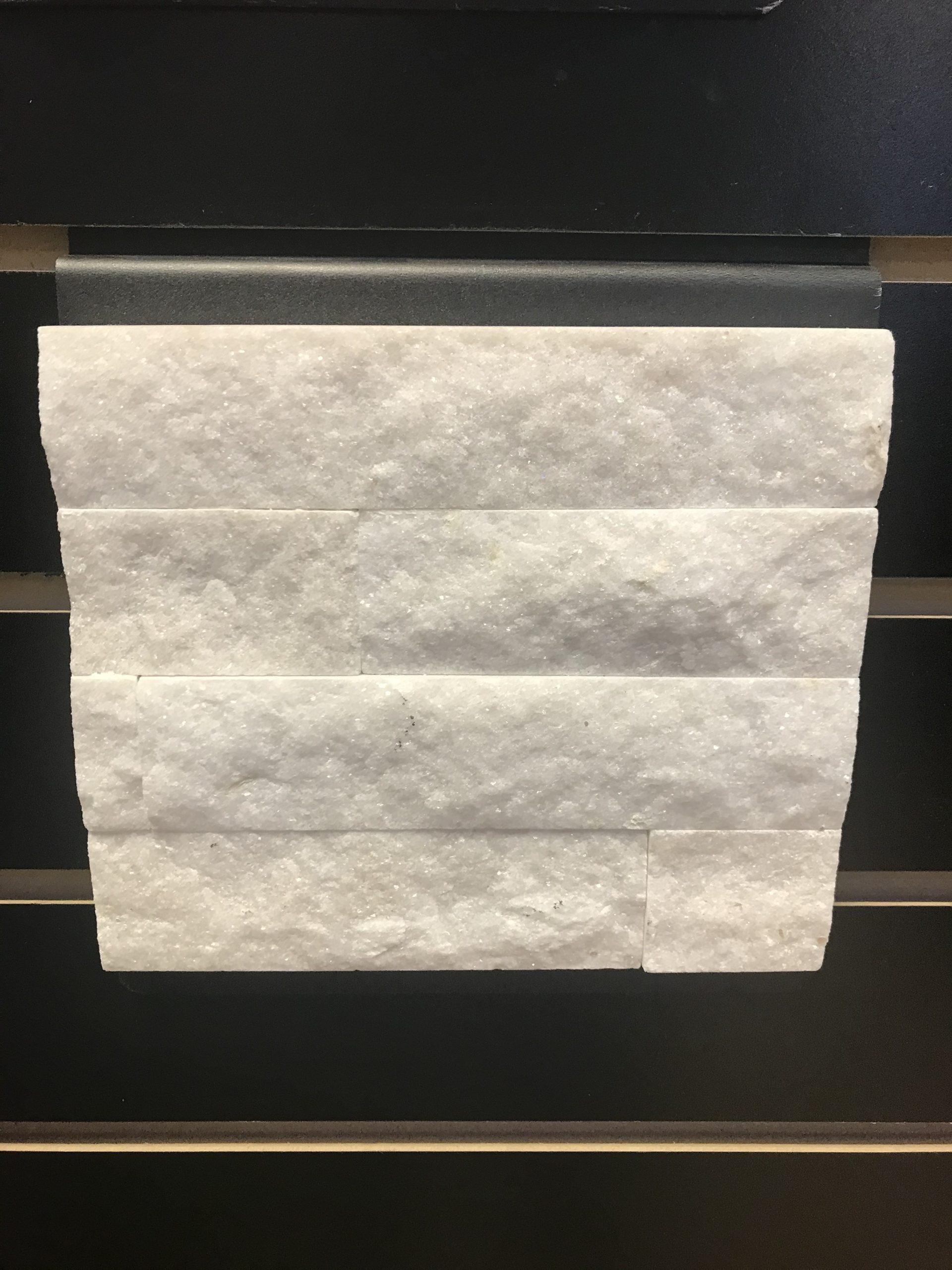Arctic White Panel Stone